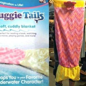 Snuggie mermaid tail blanket